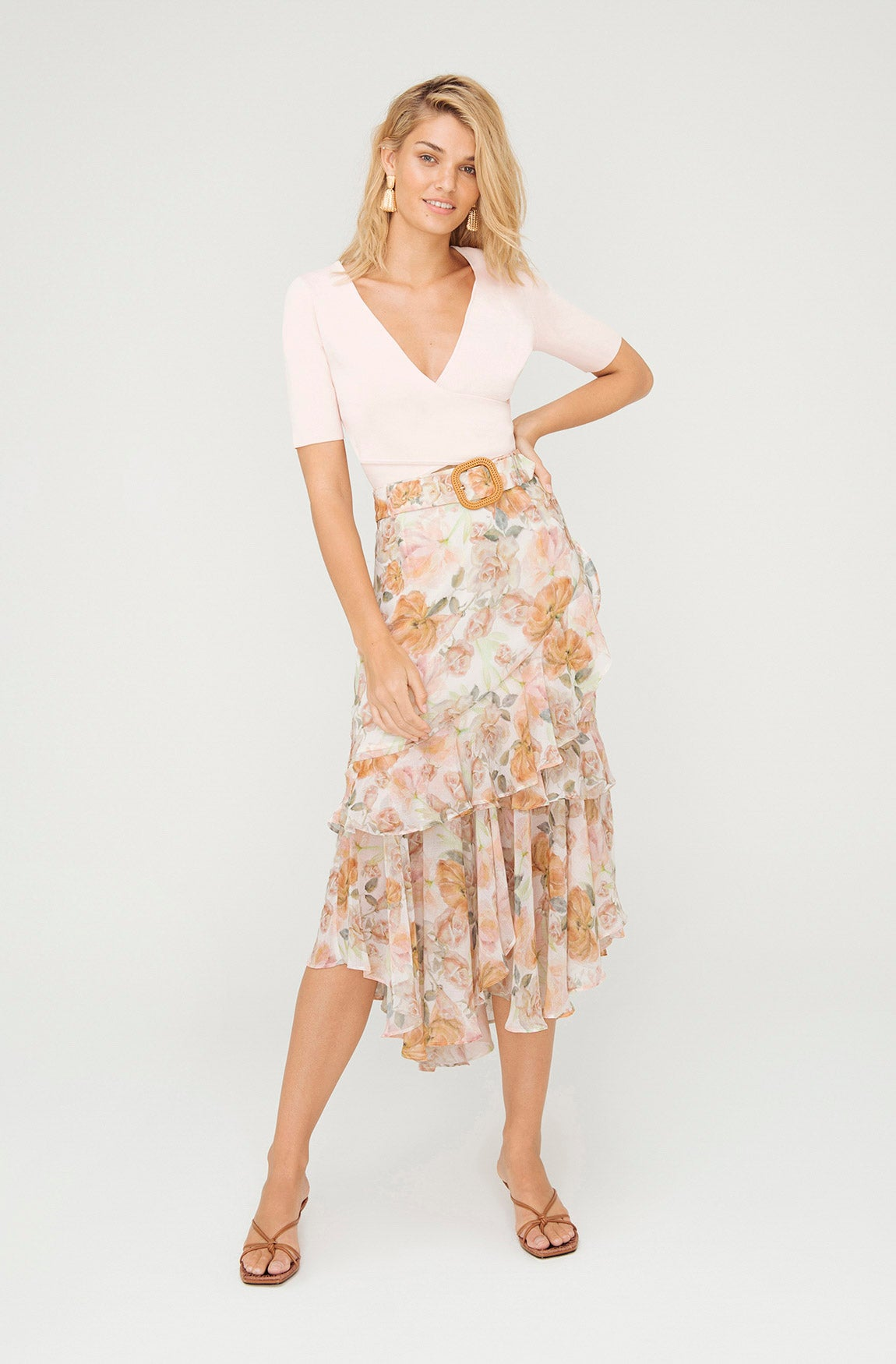 LULLABY FLORAL SKIRT