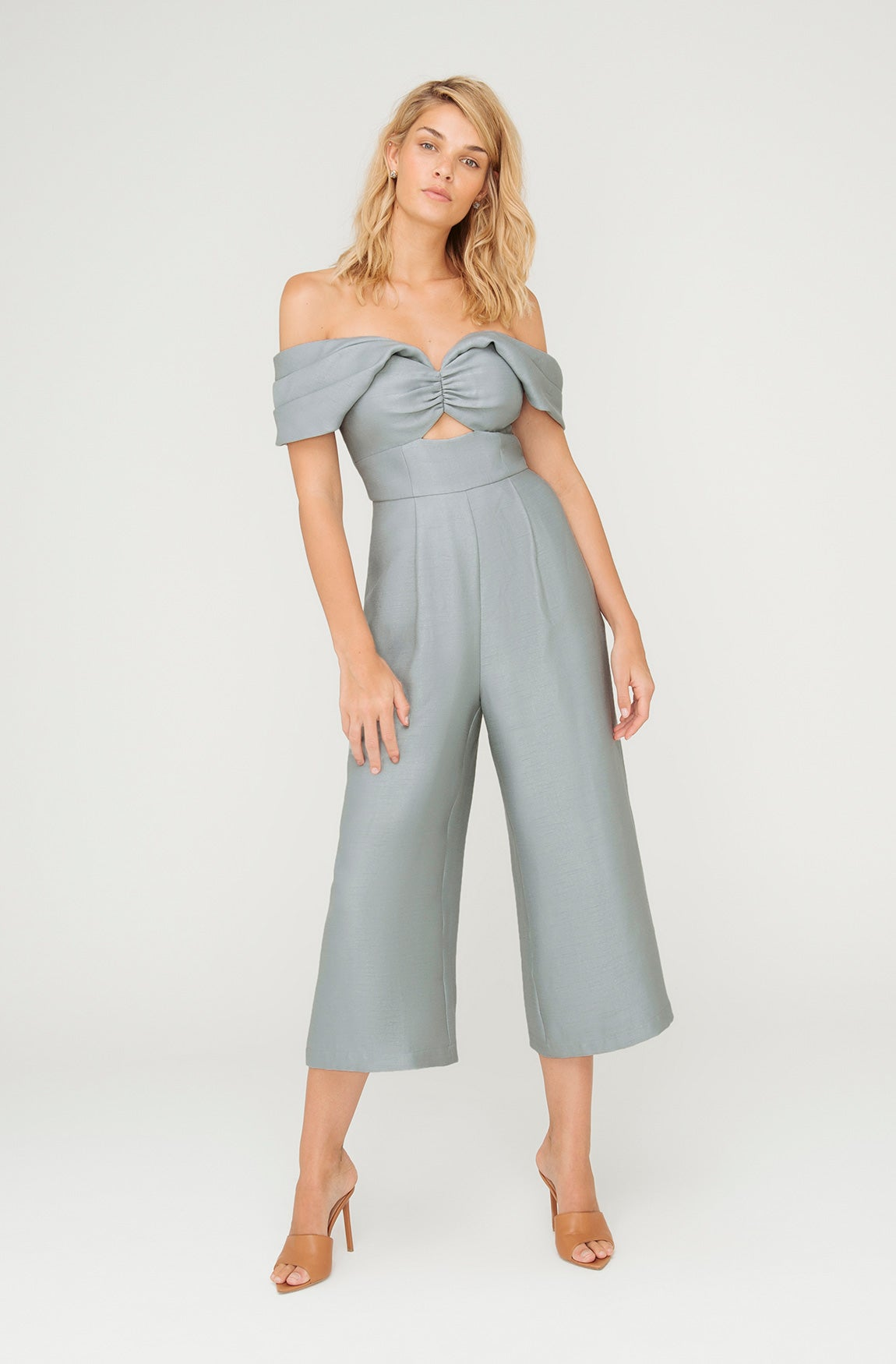 MEDUSA OFF SHOULDER JUMPSUIT