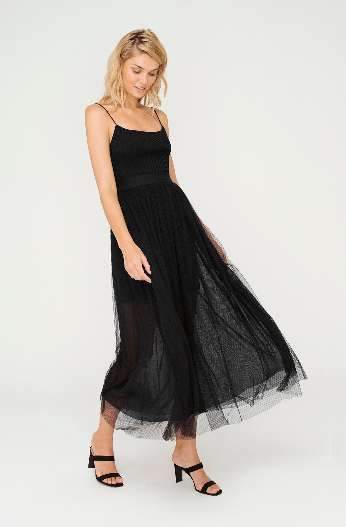 REGAL TULLE OVERSKIRT
