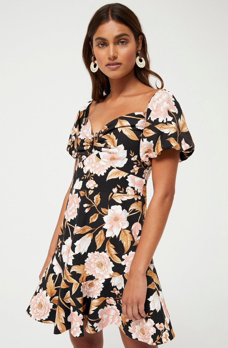 TRUDY FLORAL DRESS