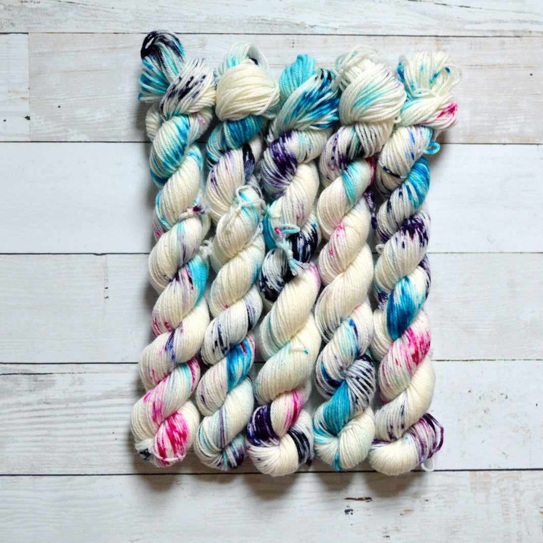 Blue Raspberry | Mini Skein