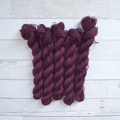 Cranberry & Figs | Solid Skein