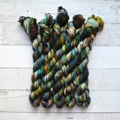Log Cabin | Mini Skein