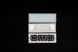 OMD Logo Sticker