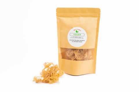 RAW WILDCRAFTED IRISH SEAMOSS (GOLD) 2oz