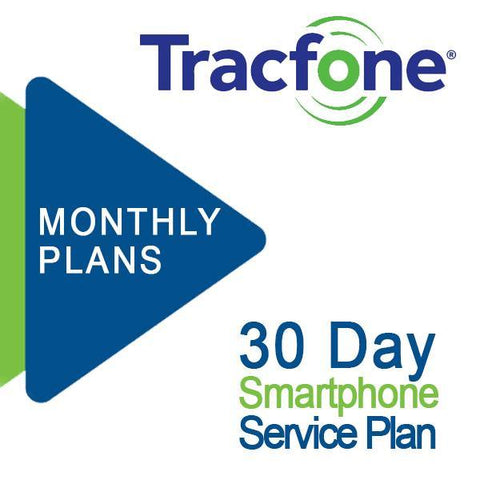 Tracfone Smartphone Monthly Plan Refill