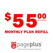 Page Plus Monthly Plan Refill