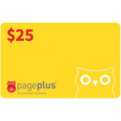 Page Plus Pay-As-You-Go Plan Refill