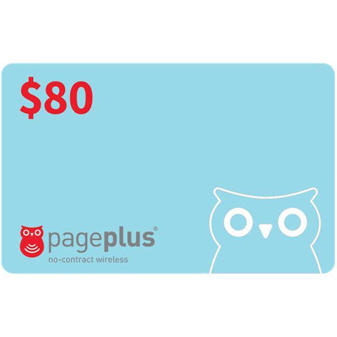 Page Plus Pay-As-You-Go Plan Refill - PrePaid Phone Zone