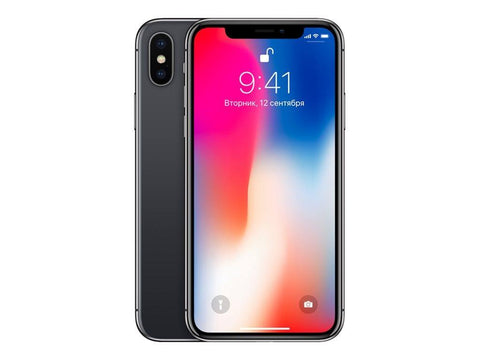 Apple iPhone X 64GB Space Gray - Reconditioned - Page Plus