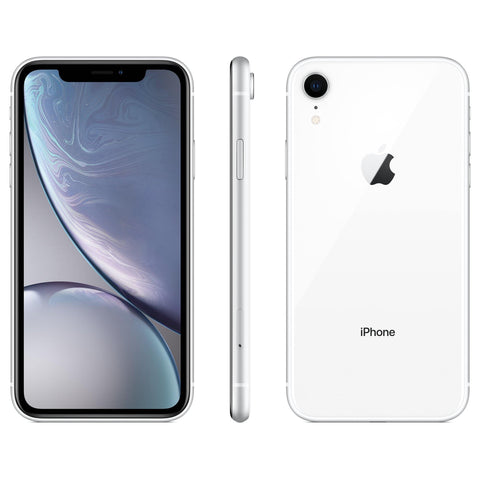 Apple iPhone XR 64GB White - Simple Mobile