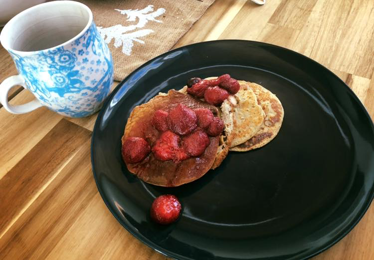 Dr. Evan's Yummy Low Carb Pancakes