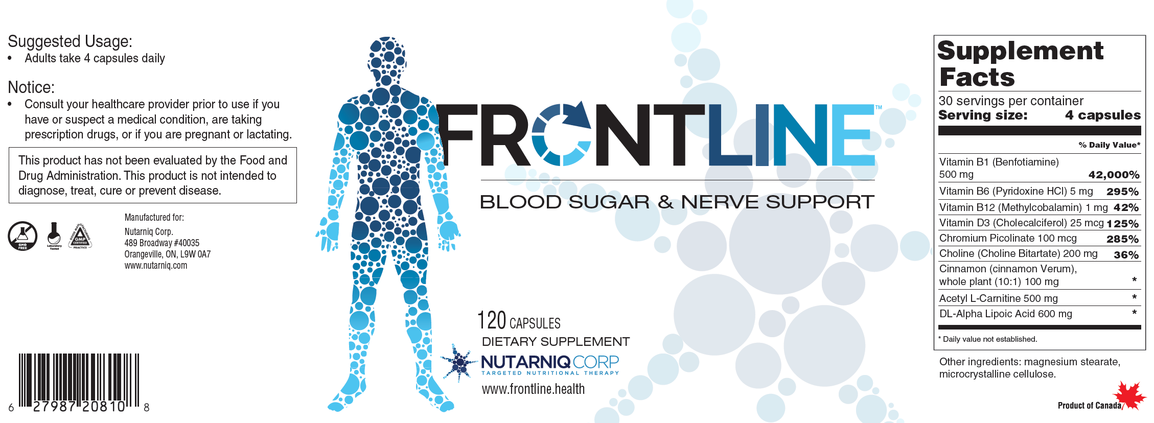 FRONTLINE Neuropathy - Subscription (10% savings)
