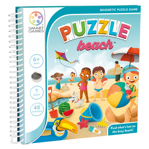 SmartGames Magnetic Travel Games: Puzzle Beach