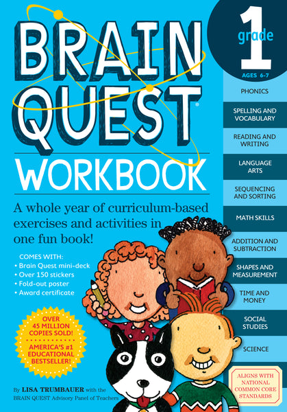 Brain Quest Workbooks: Grade 1