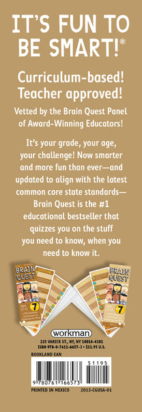 Brain Quest Grade 7 Ages 12-13