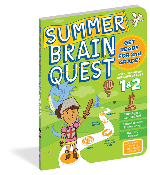 Brain Quest Summer Brain Quest: Between Grades 1 & 2