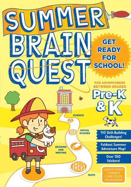 Brain Quest Summer Brain Quest: Between Grades Pre-K & K