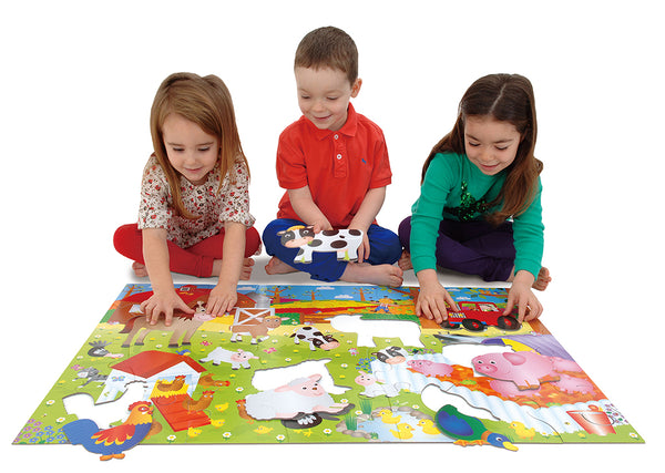 Galt Giant Floor Puzzles: Farm