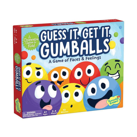 Peaceable Kingdom Guess It, Get It, Gumballs Game