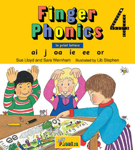 Jolly Finger Phonics Book 4