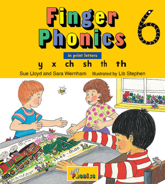 Jolly Finger Phonics Book 6