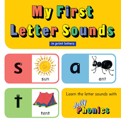 Jolly Phonics My First Letter Sounds Board Book
