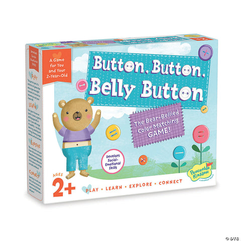 Peaceable Kingdom Button Button Belly Button
