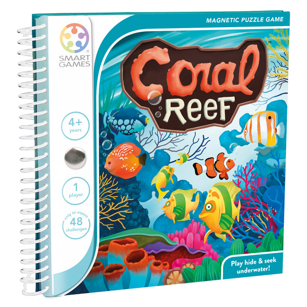 SmartGames Magnetic Travel Games: Coral Reef