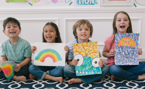 6-Pack Rainbow Do-A-Dot Markers
