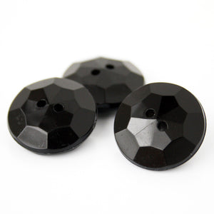 #0011 Round 2 hole facet button 20mm