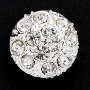 #0050 Diamonte encrusted shank button