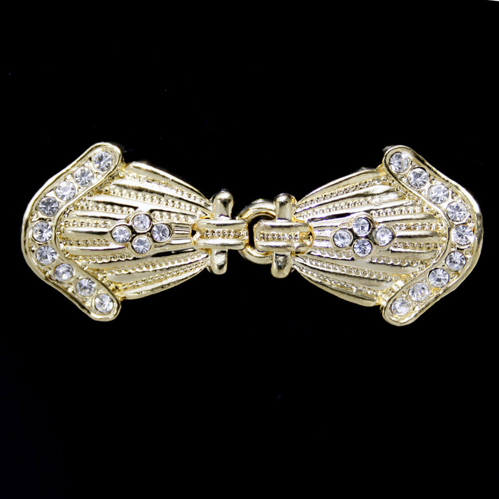 #0258 Decorative crystal clasp 50mm