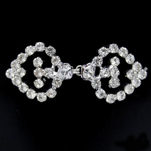 #0284 Decorative crystal clasp 60mm