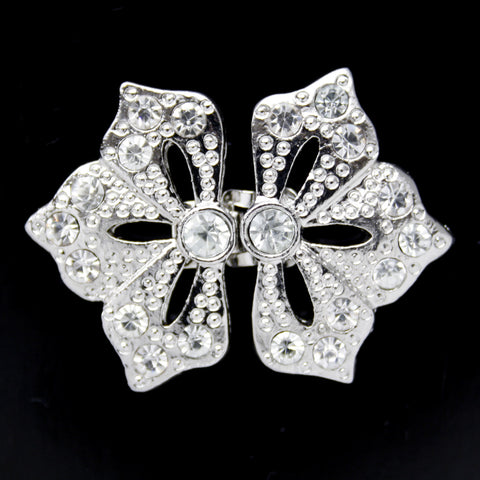 #0285 Decorative crystal clasp 42mm
