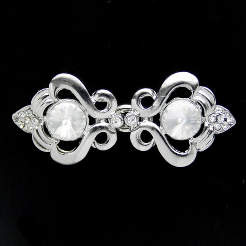 #0286 Decorative crystal clasp 48mm