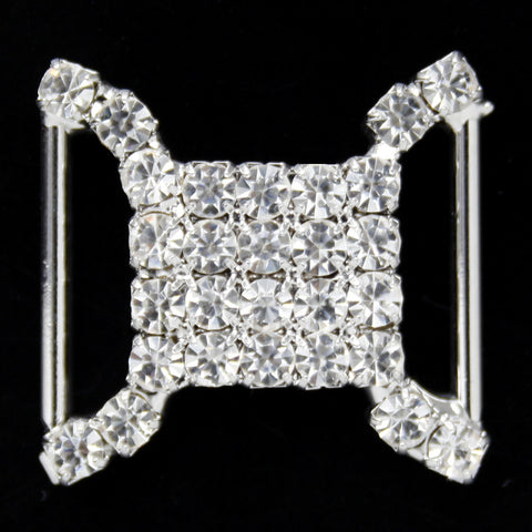#0291 Decorative crystal buckle 18mm