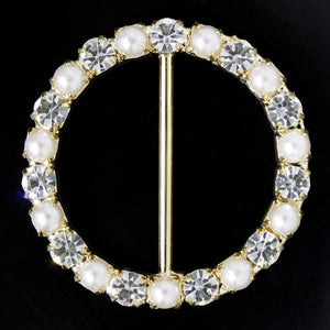 #0298 Decorative crystal buckle 39mm