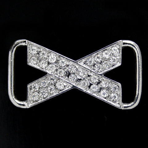 #0302 Decorative crystal buckle 42mm