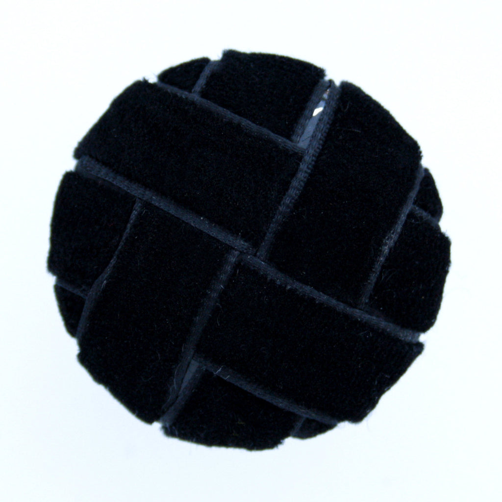 #0388 Velvet weave shank button 34mm