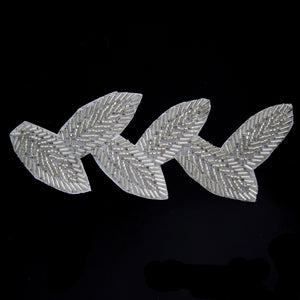 Leaf Applique Silver