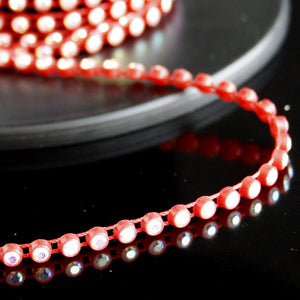 #0506 Single crystal trim red 5mm