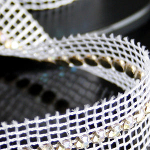 #0526 Single Row Crystal Trim 5mm