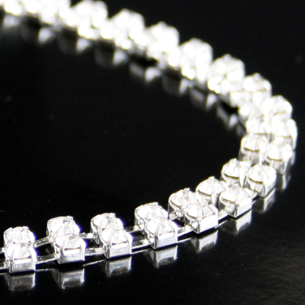 #0532 Double Row Crystal Trim 5mm