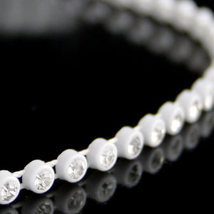 #0579 Single Row Crystal Trim 4mm