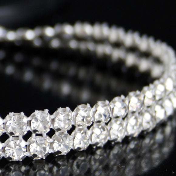 #0605 Double Row Crystal Trim 10mm