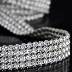 #0606 4 Row Crystal Trim 20mm