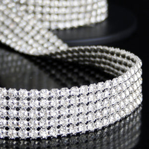 #06075 Row Crystal Trim 25mm