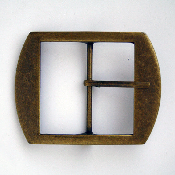 #0716 Antique Rectangle Buckle 50mm