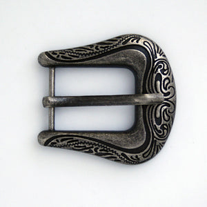 #0720 Antique Nickel Decorative Buckle 22mm